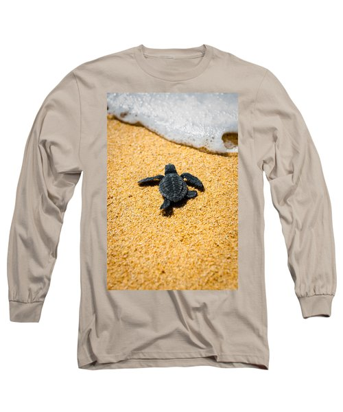 Home Long Sleeve T-Shirt by Sebastian Musial