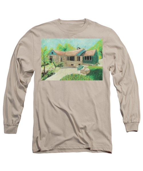 Long Sleeve T-Shirt featuring the painting Home Sweet Home by Jeanne Fischer