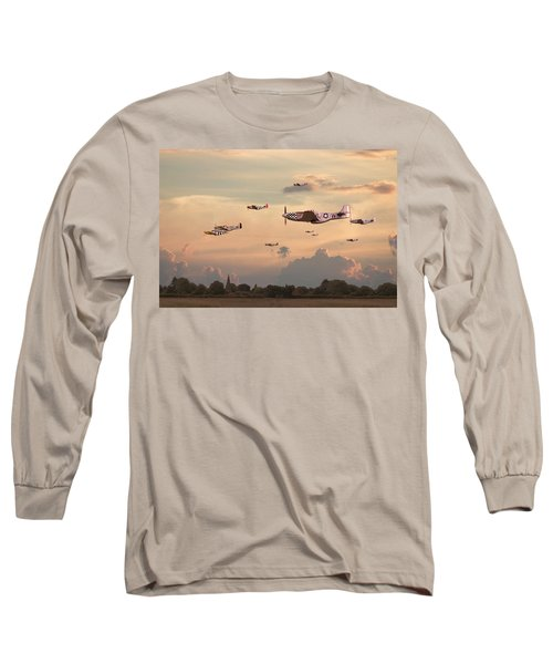 Home To Roost Long Sleeve T-Shirt by Pat Speirs