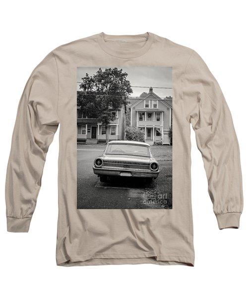 Hometown Usa Platium Print Long Sleeve T-Shirt