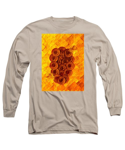 Honeybee 2 Long Sleeve T-Shirt by Lorna Maza