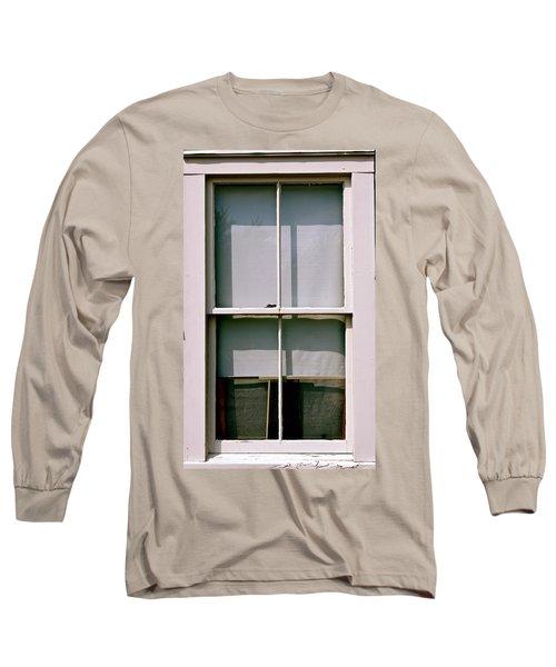 Hopper Was Here Long Sleeve T-Shirt by Ira Shander