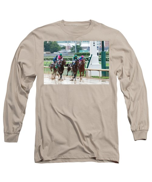 Horse Races At Churchill Downs Long Sleeve T-Shirt
