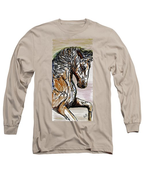 Horse Twins I Long Sleeve T-Shirt