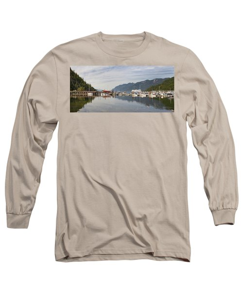 Long Sleeve T-Shirt featuring the photograph Horseshoe Bay Vancouver Bc Canada by JPLDesigns