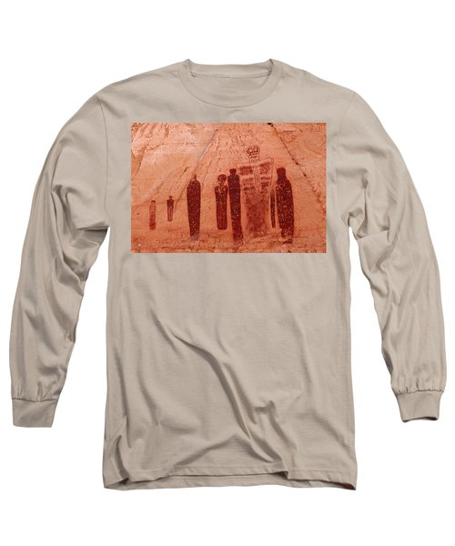 Horseshoe Canyon Pictographs Long Sleeve T-Shirt