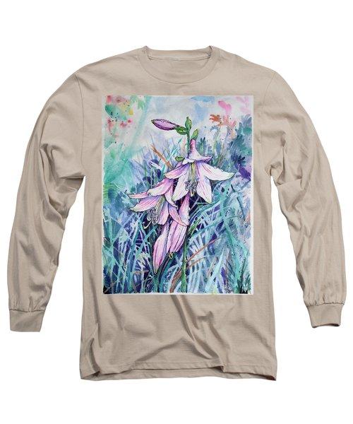Hosta's In Bloom Long Sleeve T-Shirt