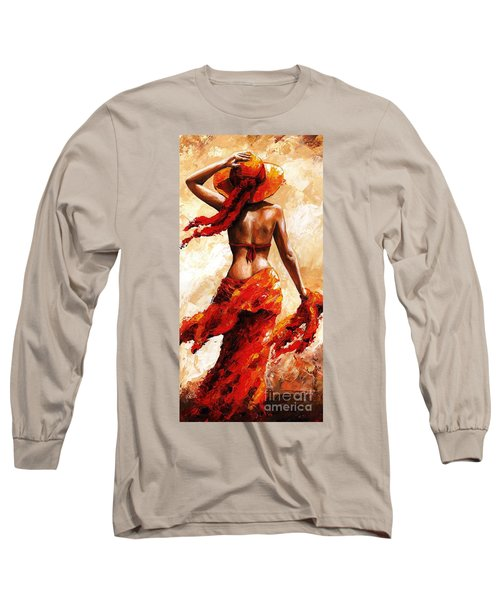 Hot Breeze #02 Long Sleeve T-Shirt