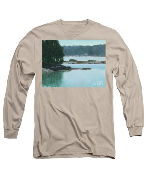 Hot Day In Rockland Me Long Sleeve T-Shirt