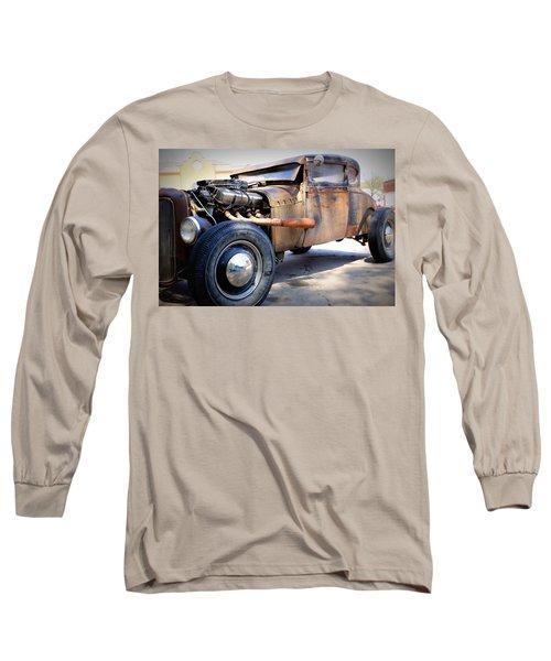 Hot Rod Long Sleeve T-Shirt by Lynn Sprowl