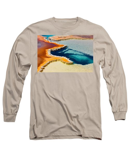 Hot Spring Perspective Long Sleeve T-Shirt