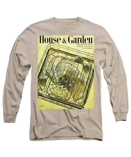 House And Garden Servant Less Living Houses Cover Long Sleeve T-Shirt