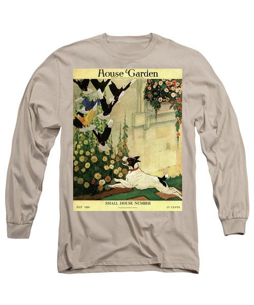 House And Garden Small House Number Cover Long Sleeve T-Shirt
