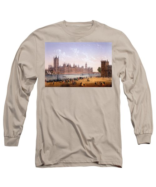 Houses Of Parliament From The South Long Sleeve T-Shirt
