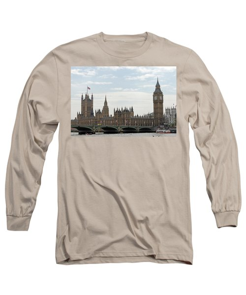 Houses Of Parliament Long Sleeve T-Shirt