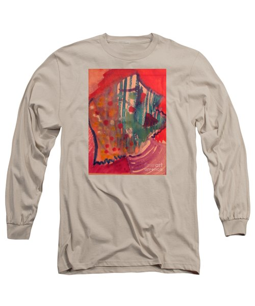 How Much I Loved You Original Contemporary Modern Abstract Art Painting Long Sleeve T-Shirt