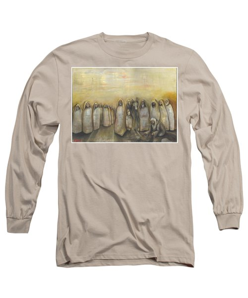 'humble Procession Of The King' Long Sleeve T-Shirt