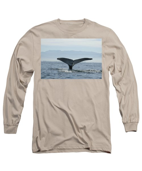 Humpback Whale Tail 3 Long Sleeve T-Shirt