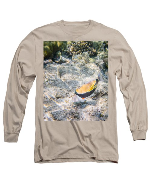 Humuhumunukunukuapua'a Long Sleeve T-Shirt by Denise Bird