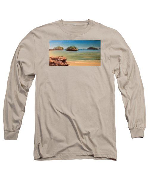 Hundred Islands In Philippines Long Sleeve T-Shirt