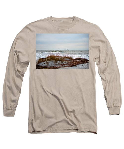 Hunting Island Beach Long Sleeve T-Shirt