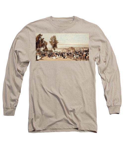 Hyde Park, Towards The Grosvenor Gate Long Sleeve T-Shirt by Thomas Shotter Boys