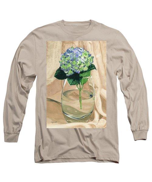 Hydrangea Blossom Long Sleeve T-Shirt