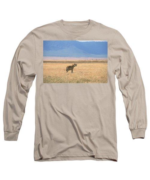 Hyena, Tanzania Long Sleeve T-Shirt
