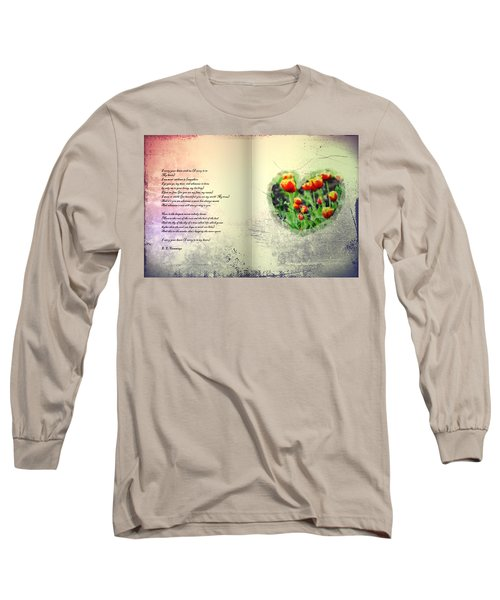 I Carry Your Heart With Me  Long Sleeve T-Shirt