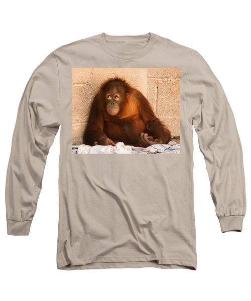 I Didn't Mean To Do It Long Sleeve T-Shirt by Robert L Jackson