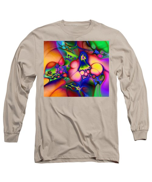 Long Sleeve T-Shirt featuring the digital art I Don't Think We're In Kansas Anymore by Casey Kotas
