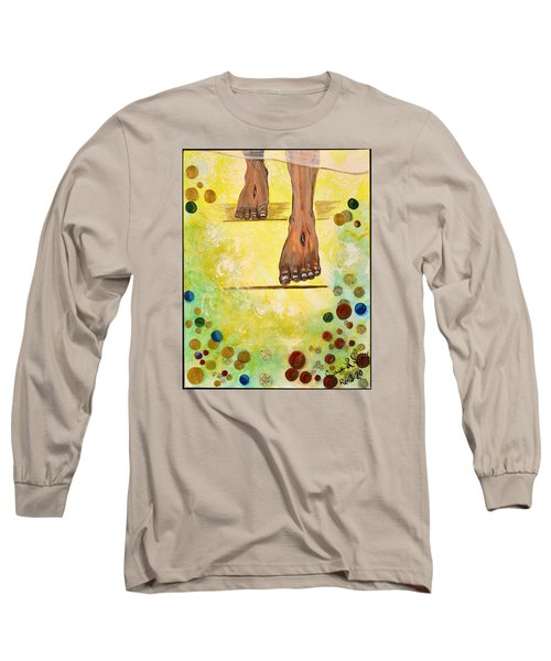 I Knock Long Sleeve T-Shirt by Cassie Sears