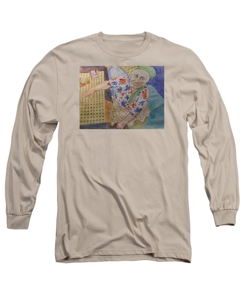 I Know I'm Right  Long Sleeve T-Shirt by Esther Newman-Cohen