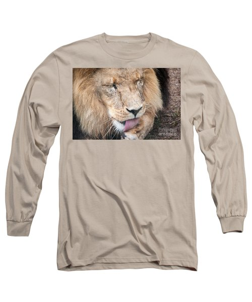 I Take Some Licking Long Sleeve T-Shirt by Ray Warren