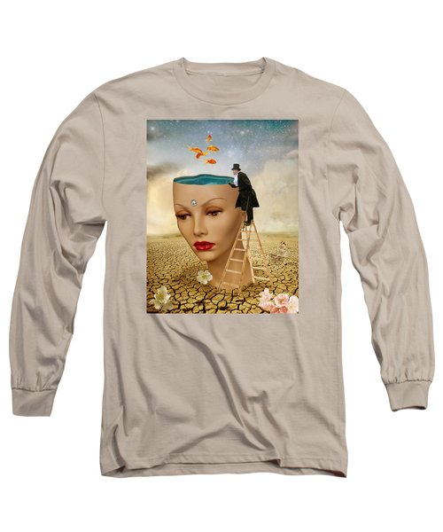 I Want To Look Inside Your Head Long Sleeve T-Shirt