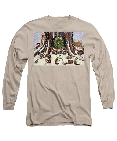 Long Sleeve T-Shirt featuring the painting I Wish We Were Invited by Jennifer Lake