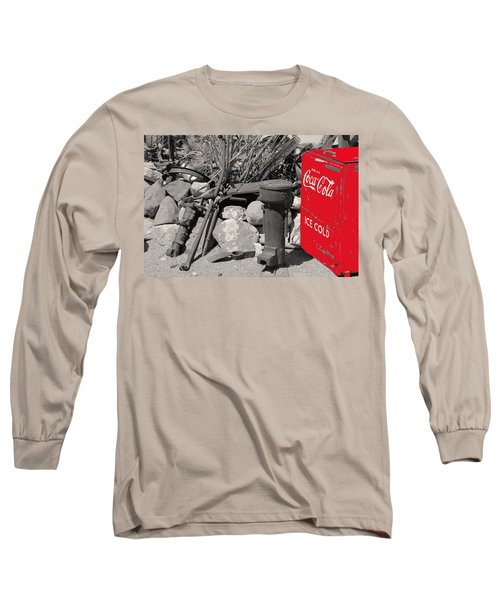 Ice Cold Drink Long Sleeve T-Shirt