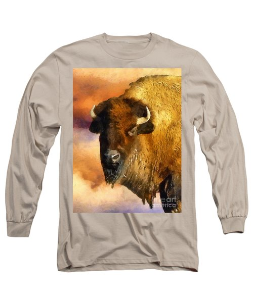 Icon Of The Plains Long Sleeve T-Shirt by RC deWinter