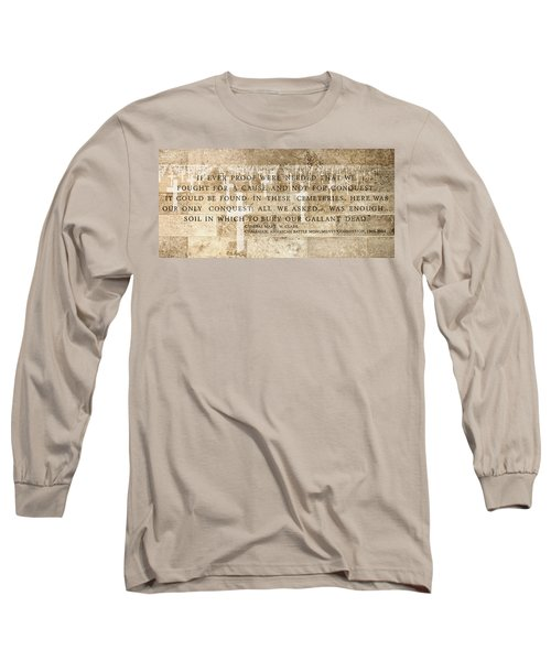 If Ever Proof Were Needed Long Sleeve T-Shirt