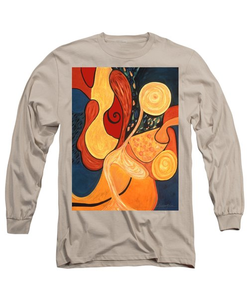 Illuminatus 4 Long Sleeve T-Shirt by Stephen Lucas