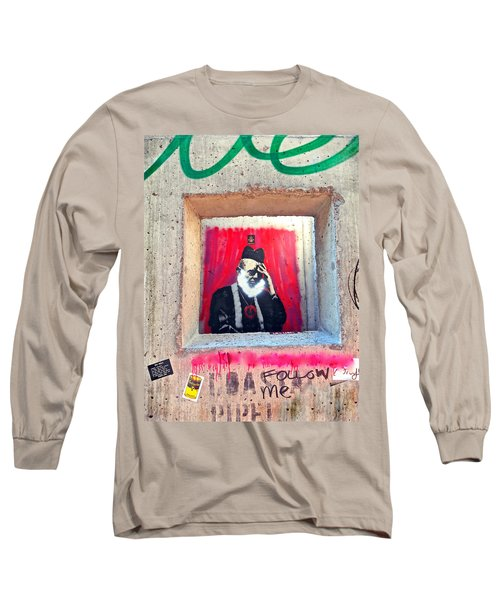 Long Sleeve T-Shirt featuring the photograph I'm Thinking by Joan Reese