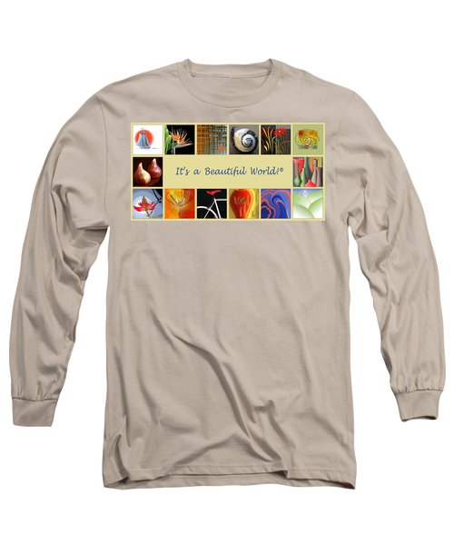 Image Mosaic - Promotional Collage Long Sleeve T-Shirt
