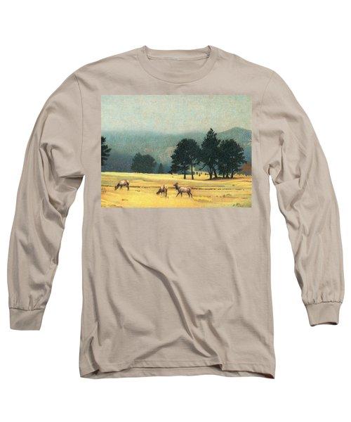 Impression Evergreen Colorado Long Sleeve T-Shirt