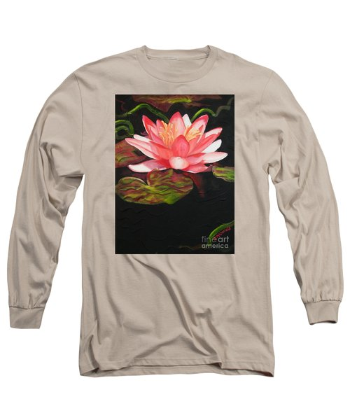 In Full Bloom Long Sleeve T-Shirt by Janet McDonald