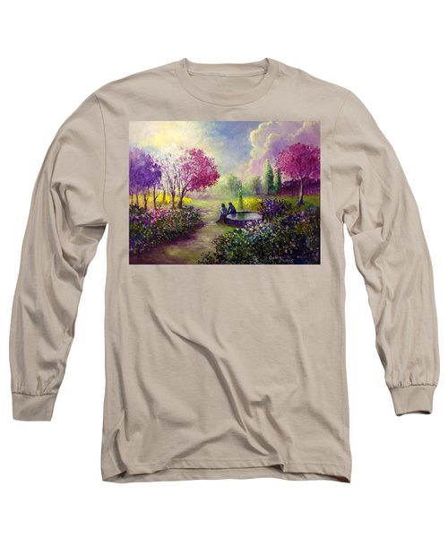 In Heaven Everything Is Fine Long Sleeve T-Shirt by Randy Burns