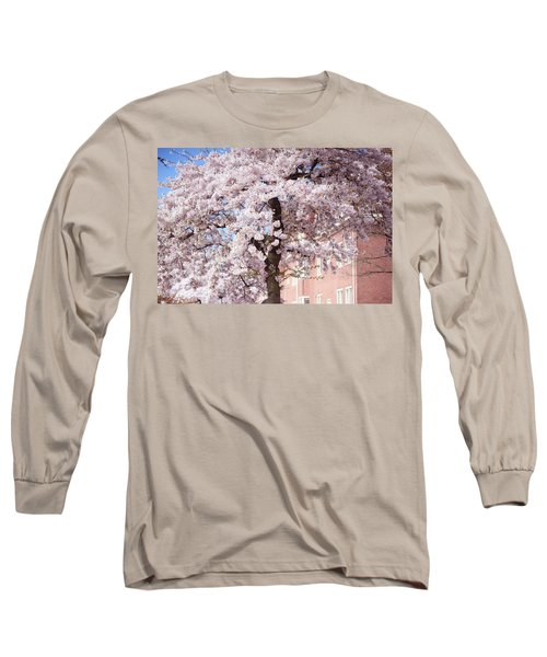 In Its Glory. Pink Spring In Amsterdam Long Sleeve T-Shirt