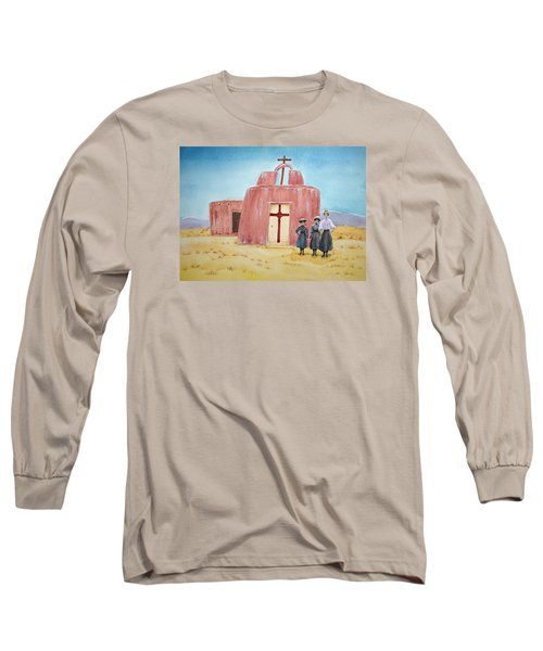 In Old New Mexico II Long Sleeve T-Shirt by Michele Myers