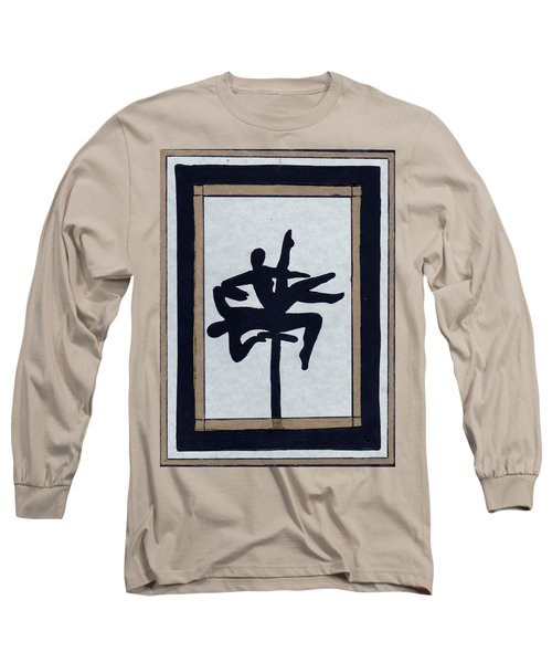Long Sleeve T-Shirt featuring the mixed media In Perfect Balance by Barbara St Jean
