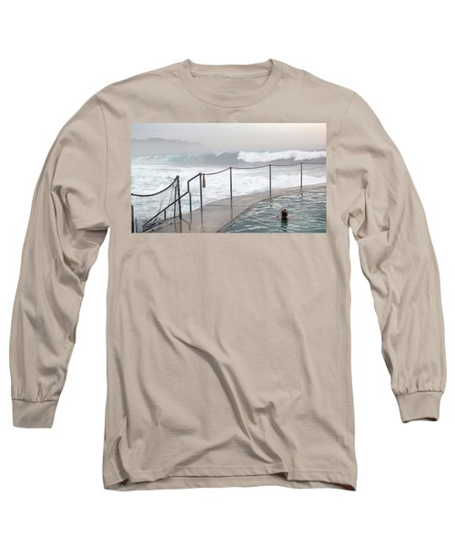 Long Sleeve T-Shirt featuring the photograph In Safe Waters by Evelyn Tambour