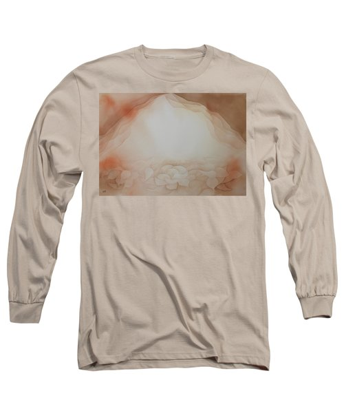 In The Beginning Long Sleeve T-Shirt by Richard Faulkner